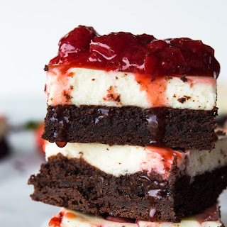 Strawberry Cheesecake Brownies Recipe