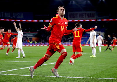 Ramsey ouvre le score (1-0)