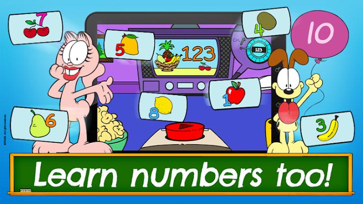 Garfield ABC's for Kids- screenshot thumbnail