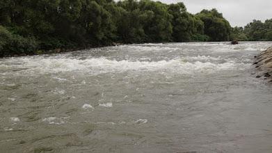 Photo: Nie pozwalają tędy spływać