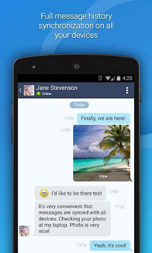 4talk Messenger 2.0.79 screenshots 1
