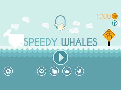 Speedy Whales Screenshot
