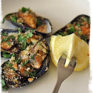 Cozze Ripiene {Stuffed Mussels}