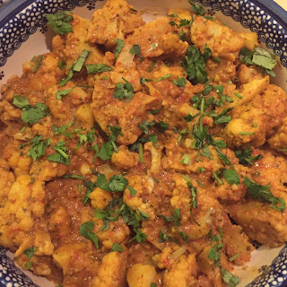 A Taste of our Travels - Cauliflower Tikka Masala