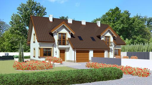 projekt Dom przy Amarantowej 2