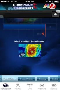 Hurricane Tracker WESH 2 - screenshot thumbnail
