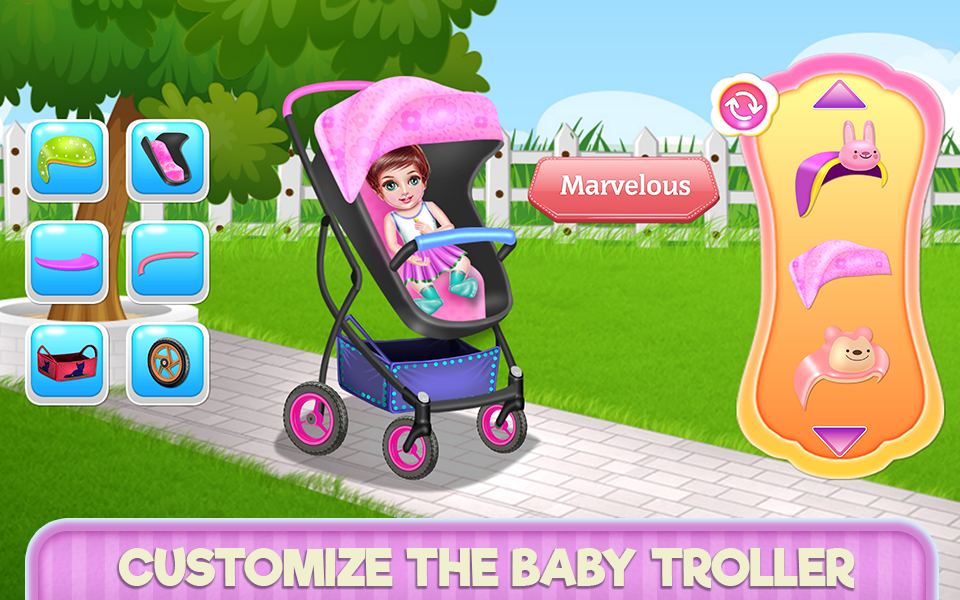 Create Your Baby Stroller- screenshot