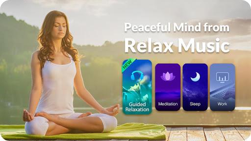 Download Relax Music - Meditation& Sleep Music, White Noise MOD APK 1