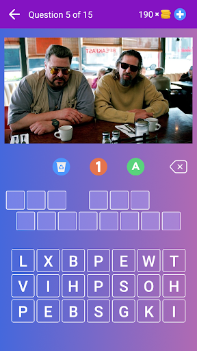 Guess the Movie from Picture or Poster — Quiz Game apklade screenshots 1