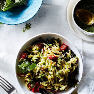 Antipasto Orzo Pasta Salad.
