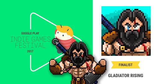 Gladiator Rising: Roguelike RPG  captures d'écran 2