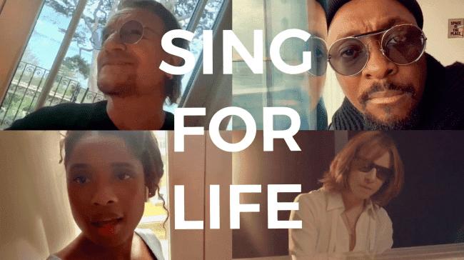 U2 主唱Bono 攜手 Will.i.am 、 Jennifer Hudson 和 YOSHIKI 推新曲〈 Sing for Life 〉