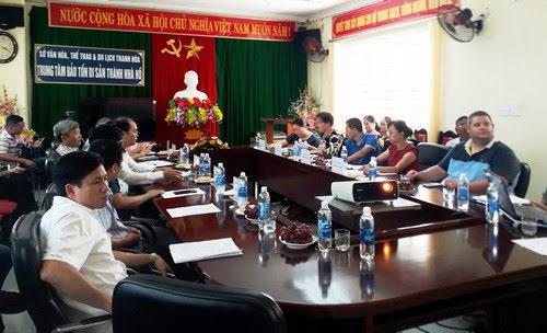 Thành Nhà Hồ Thanh Hóa, tu sửa khẩn cấp