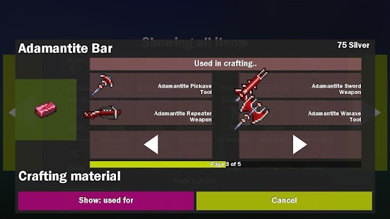 Craft tool for terraria android apps on google play craft tool for terraria screenshot thumbnail gumiabroncs Gallery
