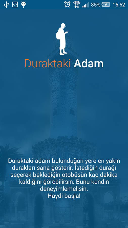 Duraktaki Adam- screenshot
