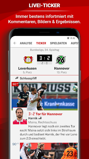 kicker Fuu00dfball News 5.7.0 screenshots 2