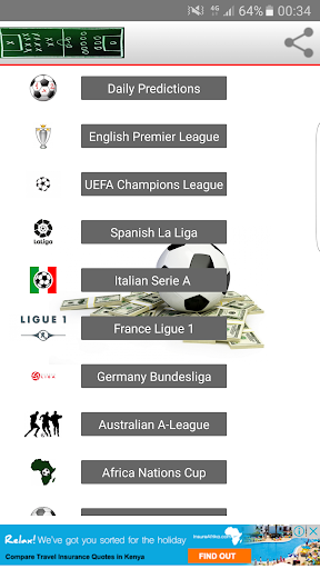 Sports Bets Predictions 1.0 Screenshots 2