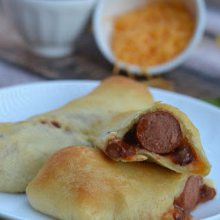Chili Cheese Crescent Dogs