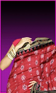 Pattu Saree Photo Suit screenshot 1