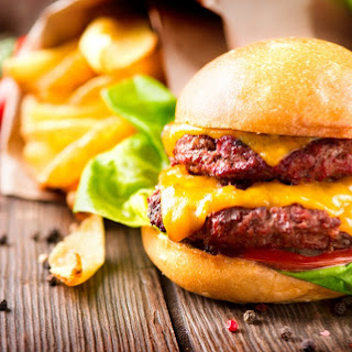 Takeaway Style Airfryer Double Cheese Burger