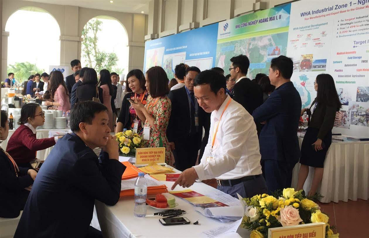Hội nghị gặp mặt các nhà đầu tư đầu Xuân của Nghệ An thường xuyên thu hút nhiều doanh nghiệp trong và ngoài nước
