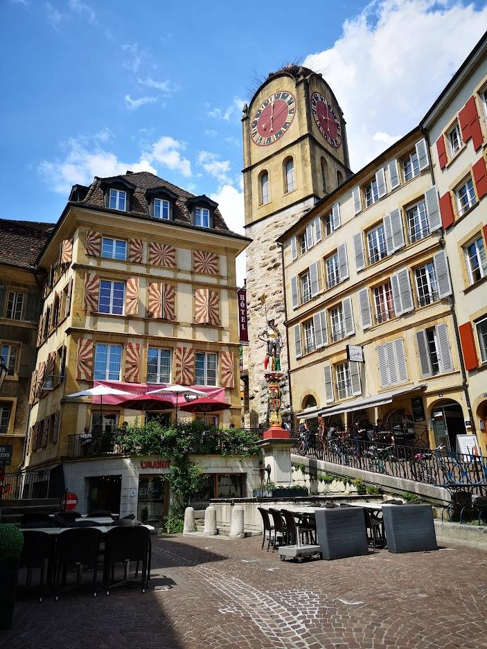 Tour de Diesse à Neuchâtel