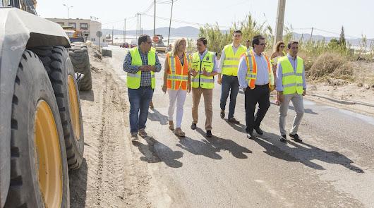 Diputación invierte un millón de euros en la mejora de carreteras en Níjar