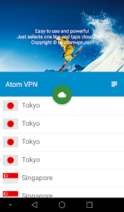 Atom VPN (100% free) 3.1.2 Mod APK Latest Version 3