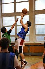 Photo: Soutěžní utkání v basketbale. Gymnázium EDUCAnet Ostrava: 35 - Gymnázium Petra Bezruče Frýdek-Místek: 42 (tělocvična Gymnázia EDUCAnet v Ostravě, středa 5. červen 2013).