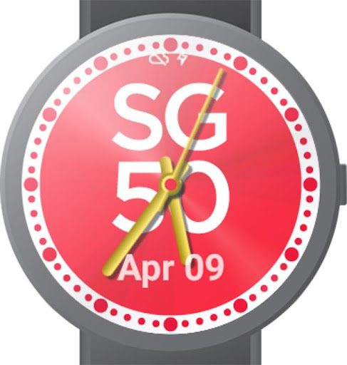 SG50 Analog Watch Face
