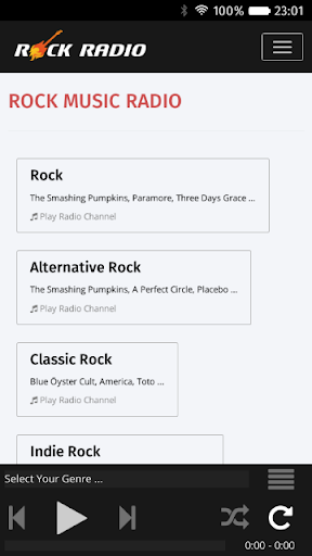ロックミュージックラジオ