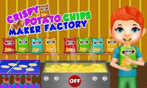 Crispy Potato Chips Maker Factory u2013 Snacks Making 1.0 screenshots 1