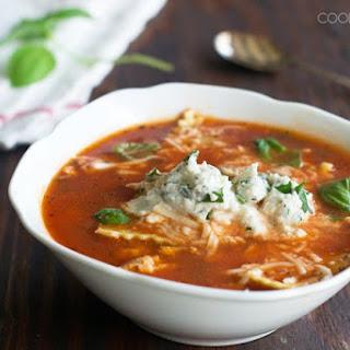 15-Minute Lasagna Soup.