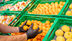 Mandarinas origen nacional en la sección de Fruta y Verdura de Mercadona.