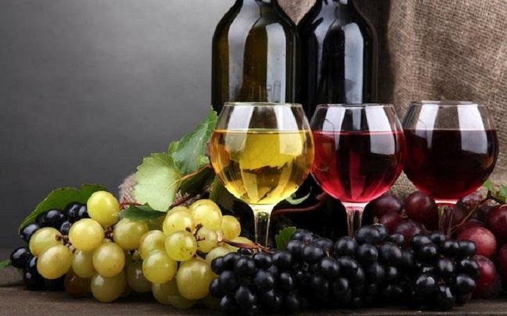 Các loại rượu nho ở nước ta