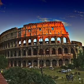the colloseum by Davis L. Antonio - Buildings & Architecture Statues & Monuments