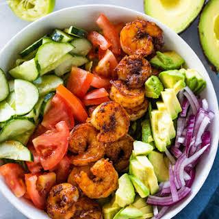 Skinny Shrimp & Avocado Salad.
