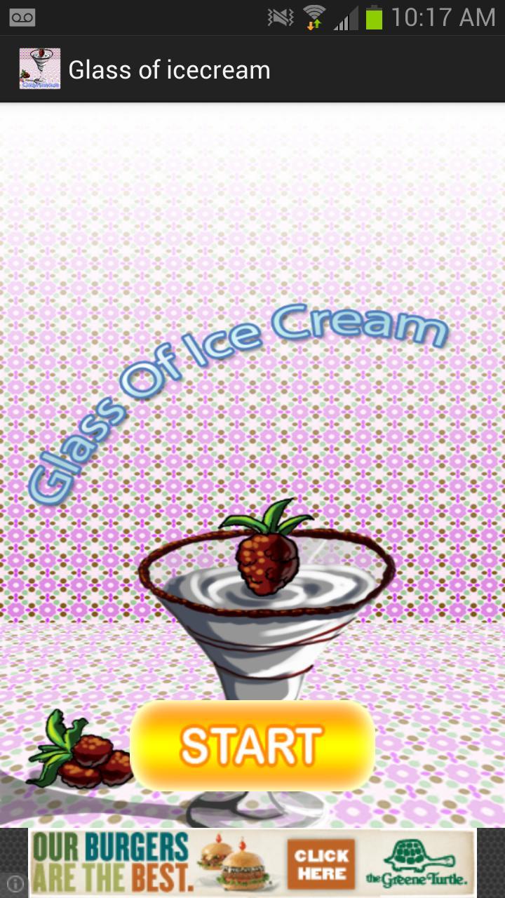 Скриншот Glass of icecream