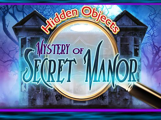 Hidden Object Mystery Manor