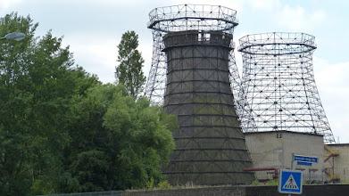 Photo: Zollverein; Kokerei; Kühlturme und Kühlturmgerüste