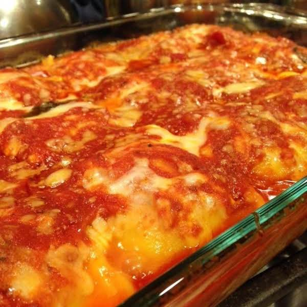 Easy Cheesy Baked Ravioli Recipe
