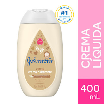 Crema Johnson Baby   Liquida De Avena X 400ml