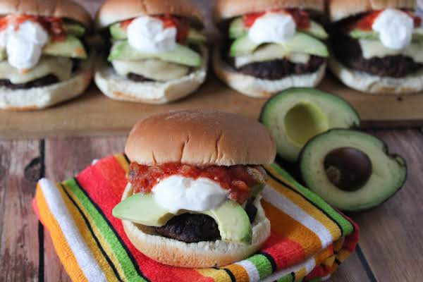 Grilled Pico Burgers Assembled.