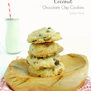Coconut Chocolate Chip Cookies (Dairy Free)