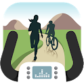 BitGym: Treadmill Trails App for Cardio Motivation icon