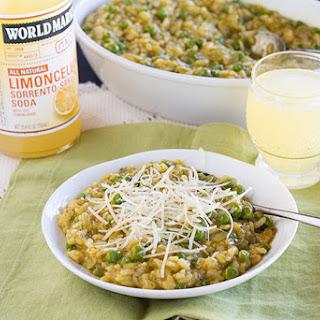 Italian Style Rice & Peas (Risi e Bisi).