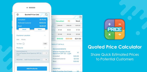 Quoted Price Calculator - Apps on Google Play