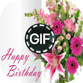 Flowers Birthday Animated Images Gif