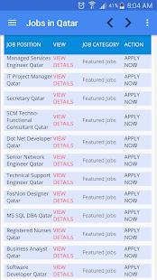 Job Vacancies in Qatar - náhled