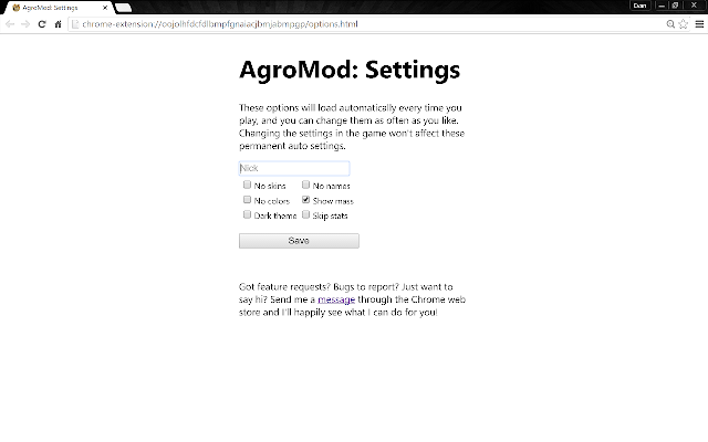 AgroMod: The Only Agar io Merge Timer